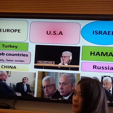 """הרצאה של ד""""ר רוני שקד על הסכסוך הישראלי-פלסטיני"""